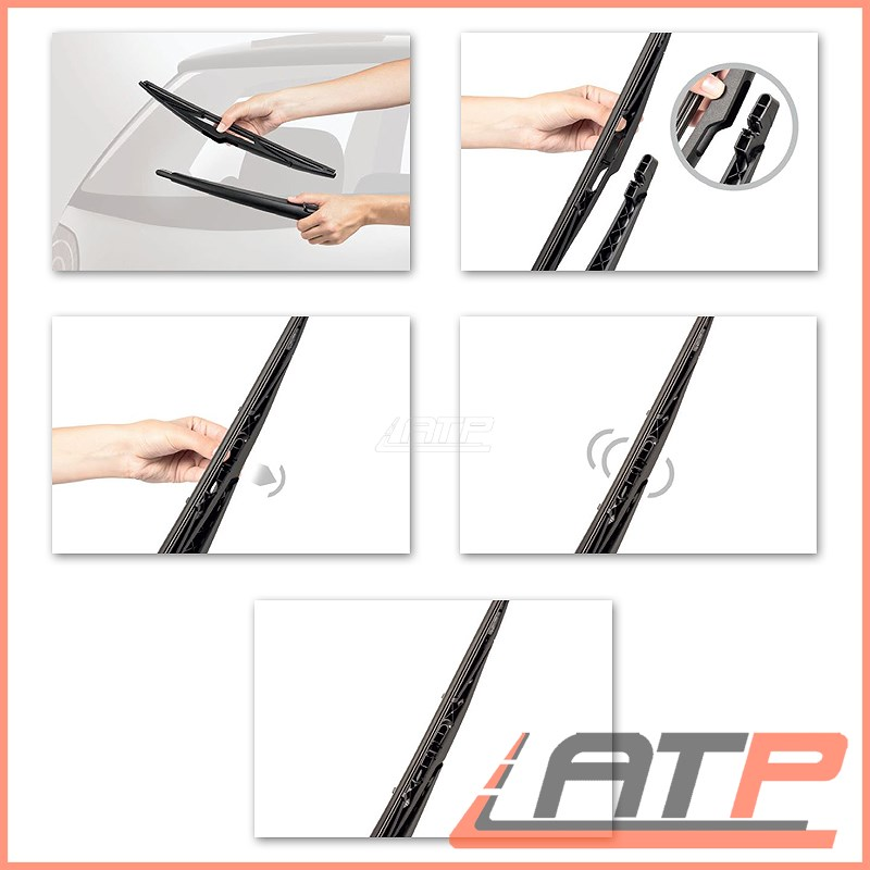 ABARTH Rear Wiper Blade BLANK Bosch 71751022 Genuine Top Quality Replacement New