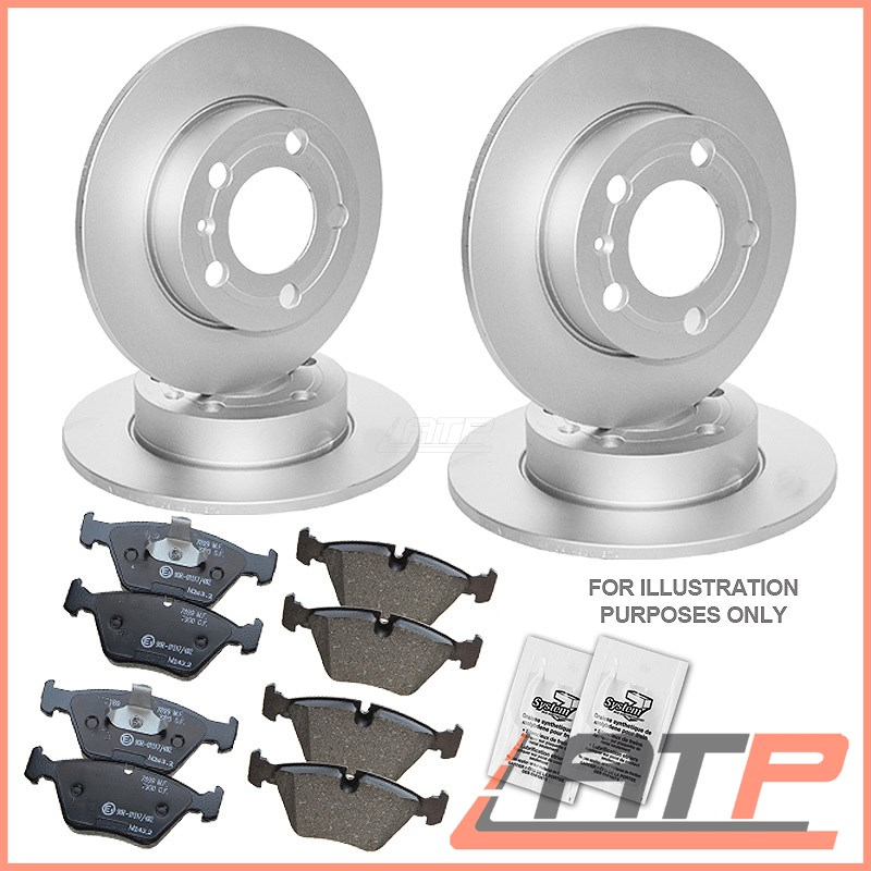Ford S-Max Mk1 1.6 1.8 2.0 2.3 2006-2015 Front 2 Brake Discs Pads Set FITS