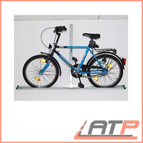 eufab 16408 bike wall hanger storage hanging shelf bicycle. Black Bedroom Furniture Sets. Home Design Ideas