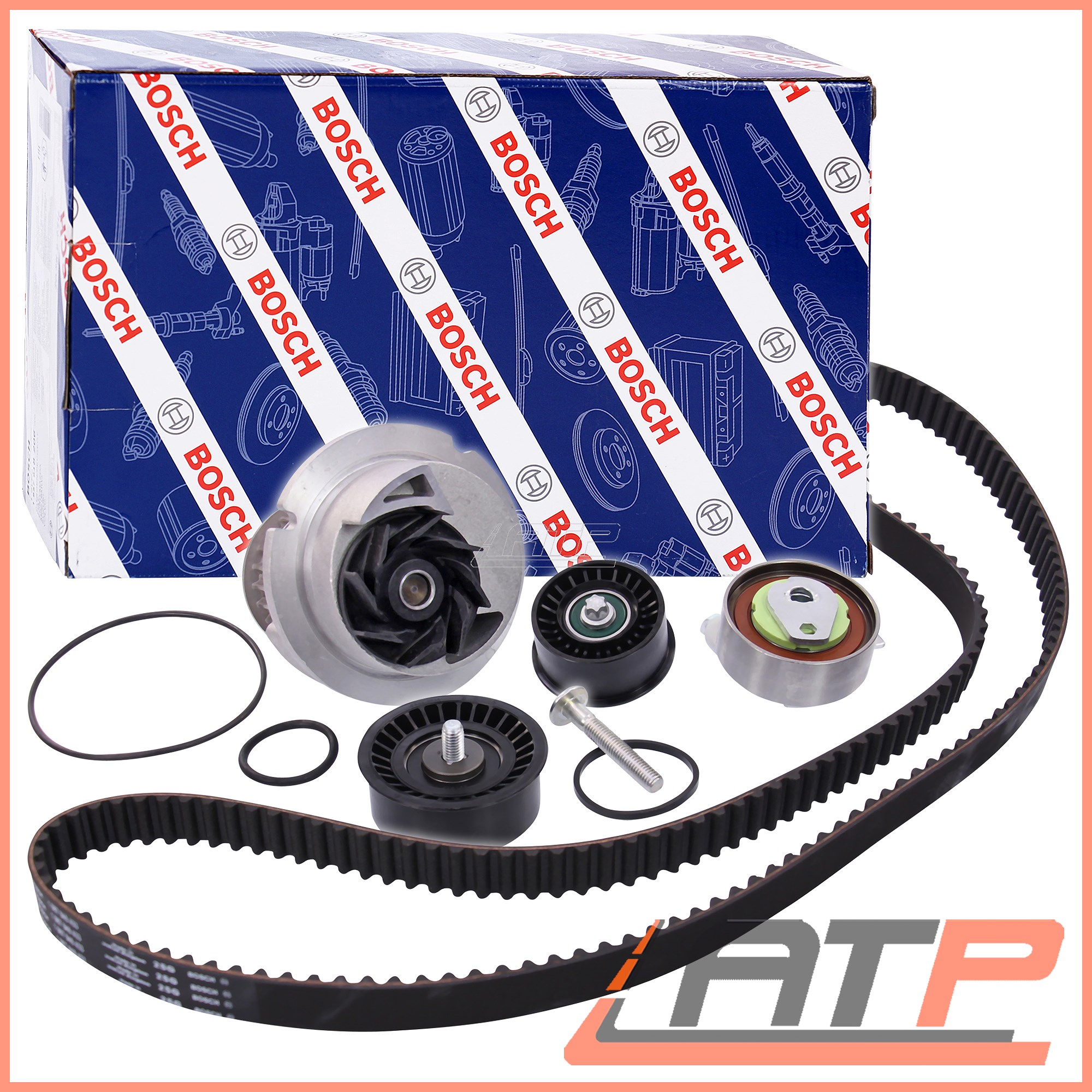1X-BOSCH-TIMING-BELT-KIT-WATER-PUMP-OPEL-VAUXHALL-ASTRA-MK-5-H-1-8-04-09