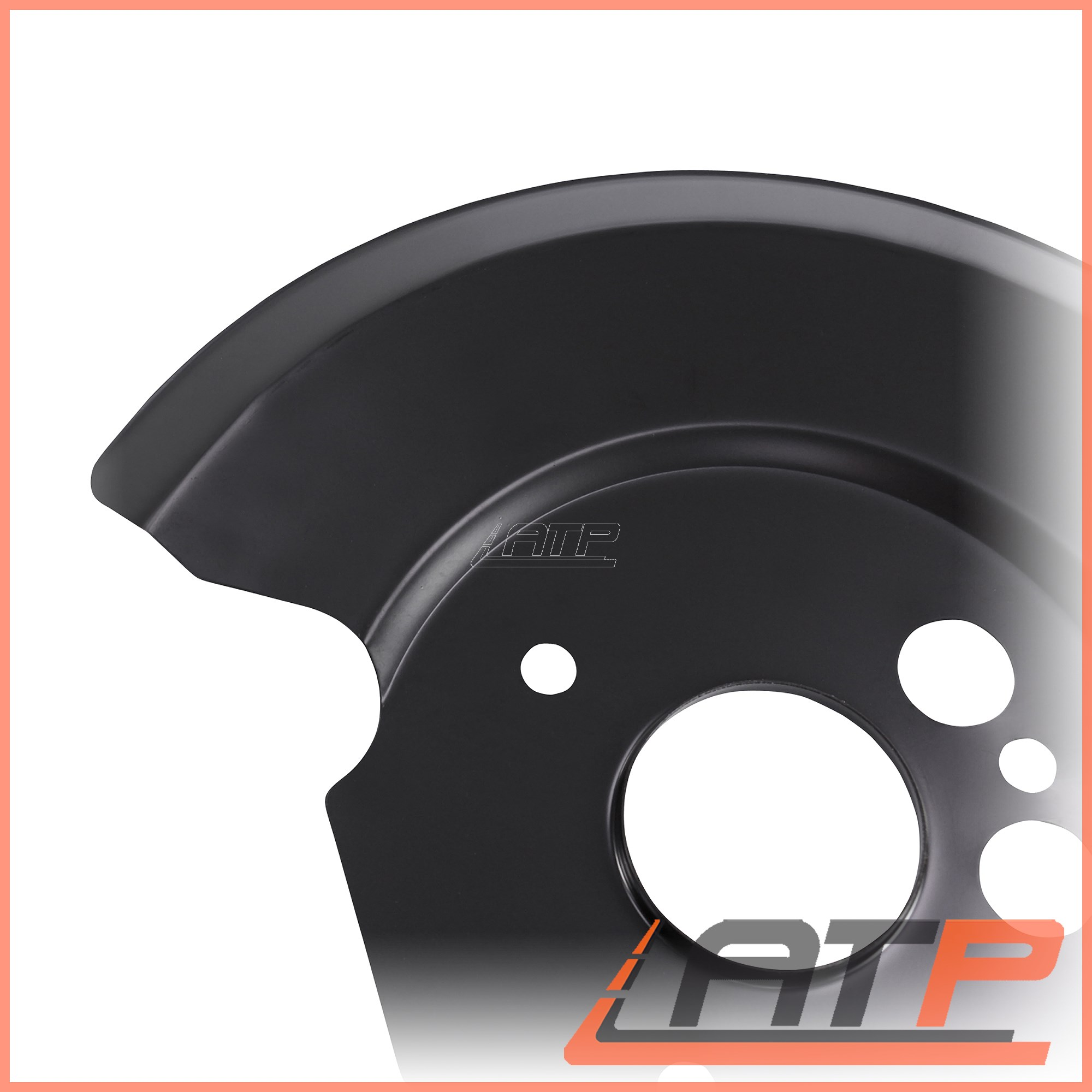 2X COVER PLATE FOR BRAKE REAR LEFT+RIGHT FORD MONDEO MK 1 93-96 2 96-00