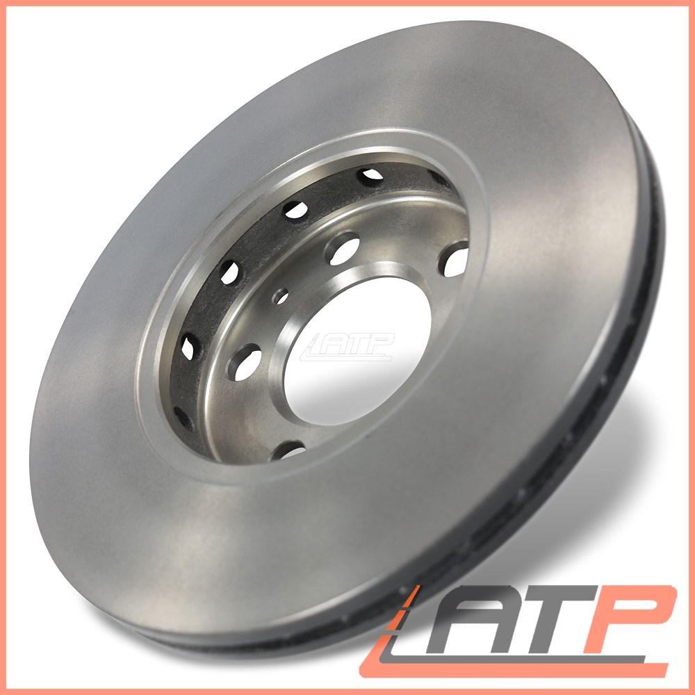 Brake Discs 256mm Vented Fits Skoda Fabia 1.0 1.2 1.4 1.4 16V Front Brake Pads