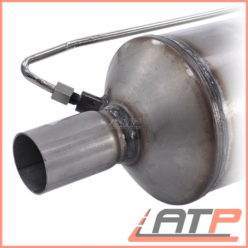 1x exhaust diesel particulate filter dpf opel vauxhall. Black Bedroom Furniture Sets. Home Design Ideas