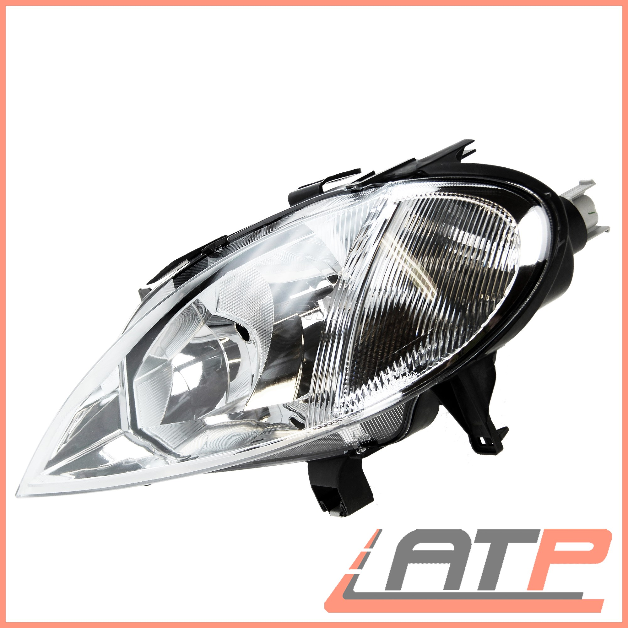 2X HEADLAMP HEADLIGHT H7//H1 LEFT+RIGHT RENAULT MEGANE MK 1 99-03