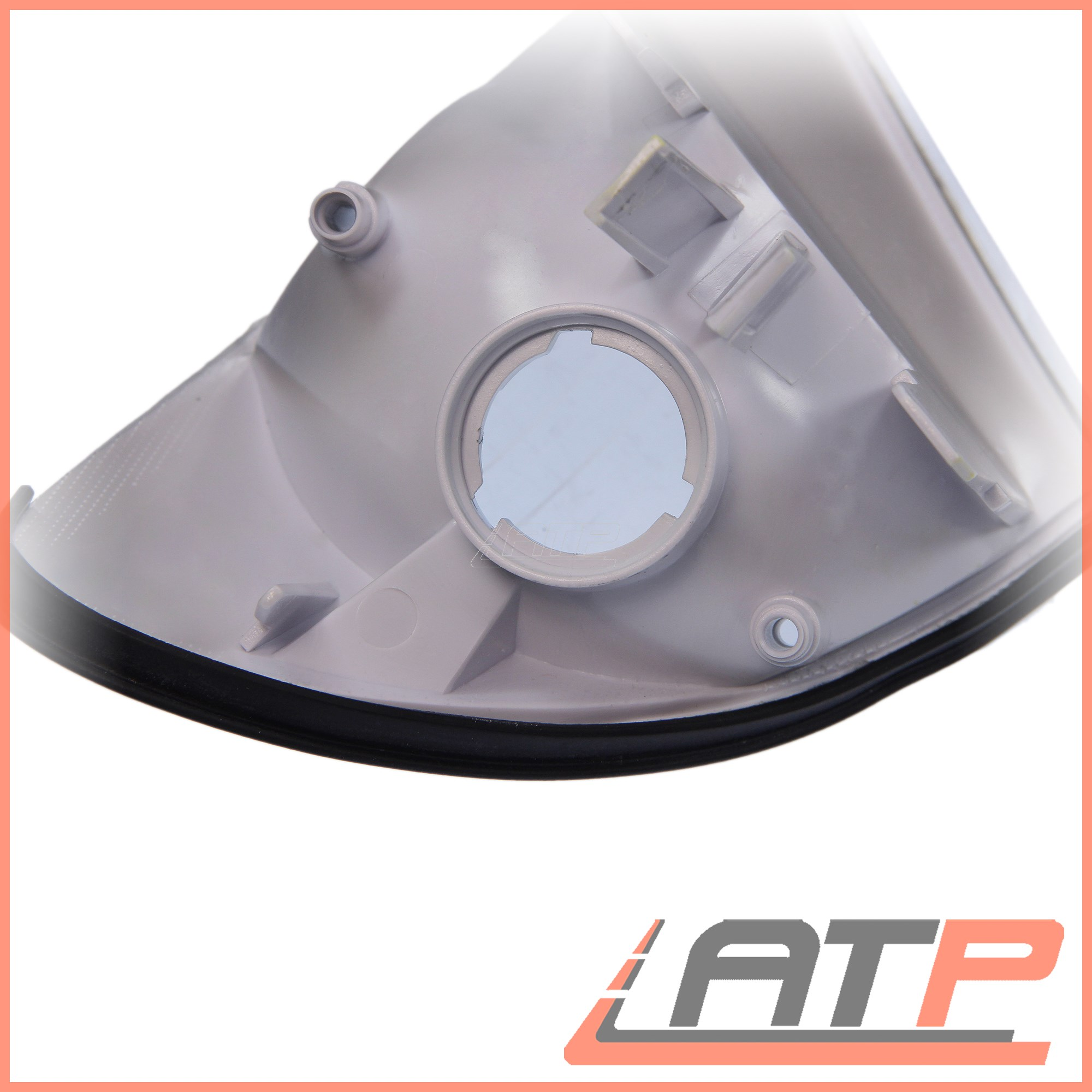 1x-INDICATOR-FRONT-RIGHT-WHITE-LENS-BMW-3-SERIES-E46 thumbnail 6