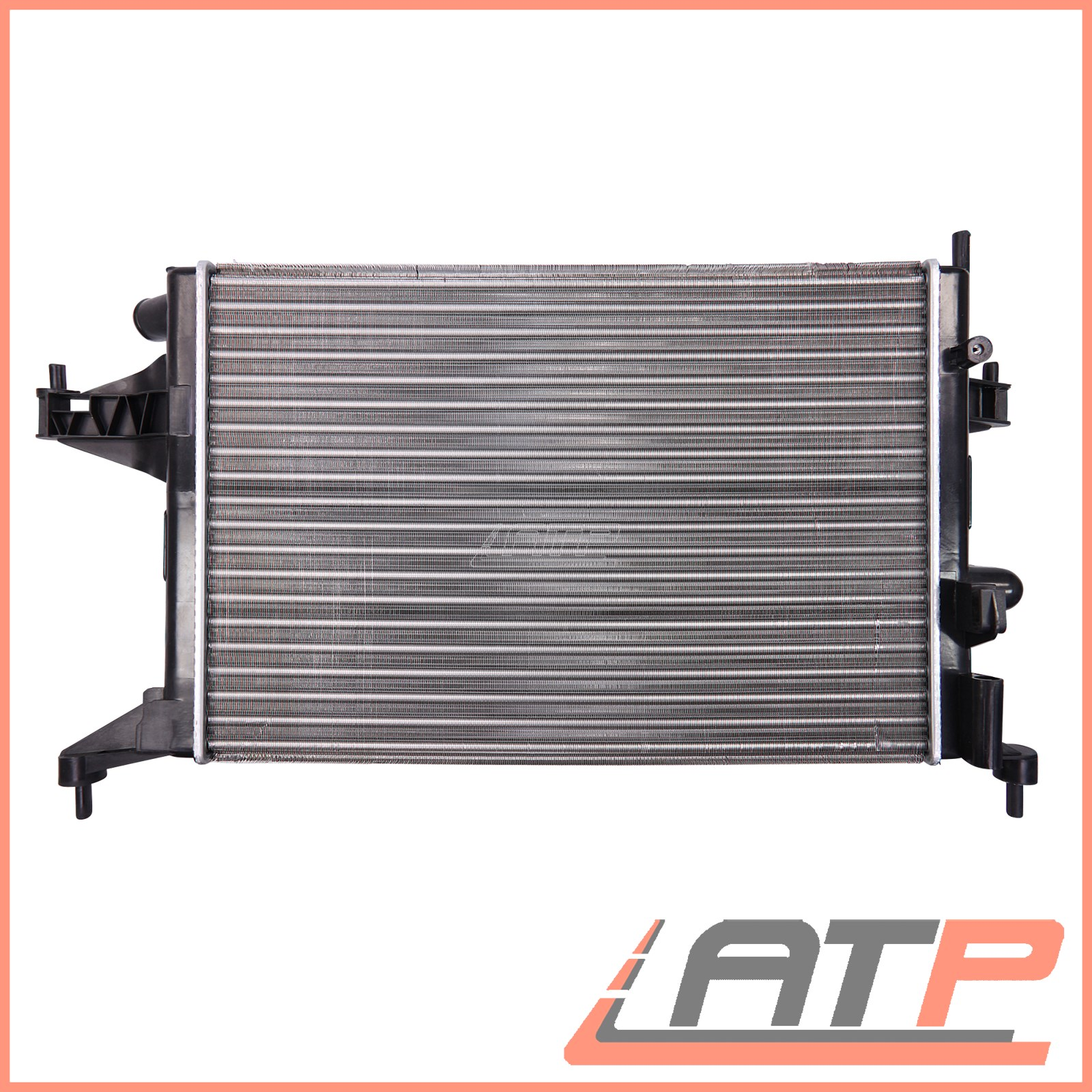 Engine cooling radiator manual vauxhall opel corsa c
