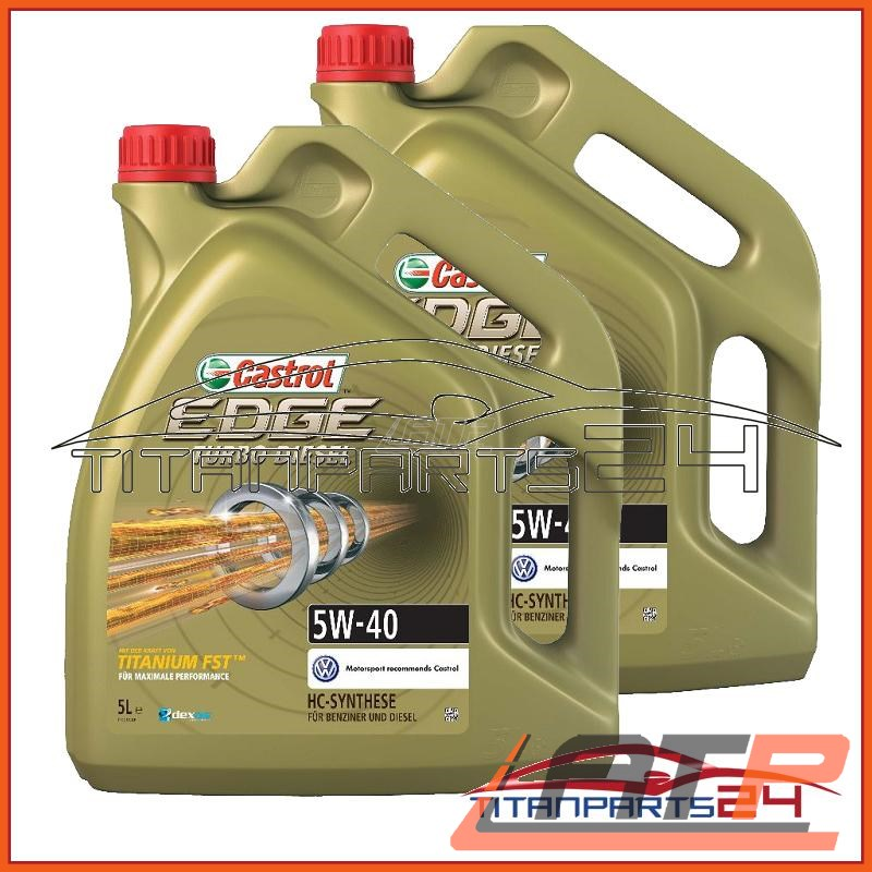 10 LITRE CASTROL EDGE FST™ 5W-40 ENGINE-OIL RENAULT RN0710