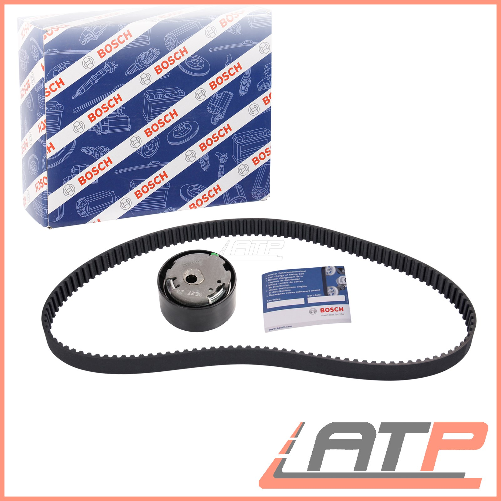 1x Bosch Timing Belt Kit Fiat 500 C L X 07 Doblo 10 Grande Punto Genuine