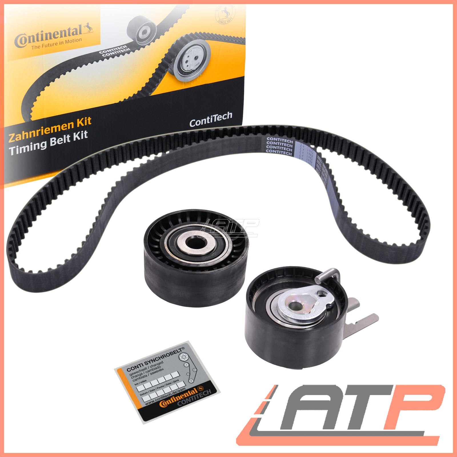 Image Is Loading X Contitech Timing Belt Kit Ford Focus Mk