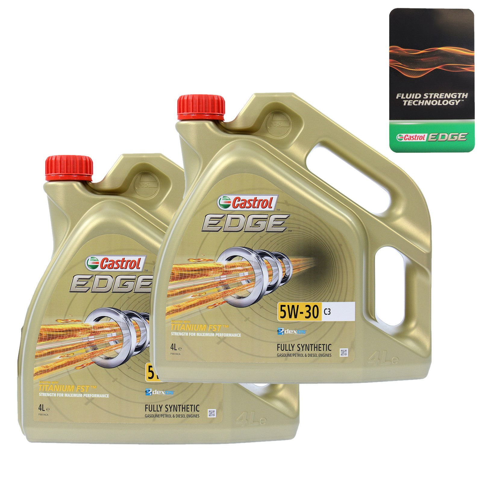 2x 4 l 8 litre castrol edge fst 5w 30 c3 engine oil bmw. Black Bedroom Furniture Sets. Home Design Ideas