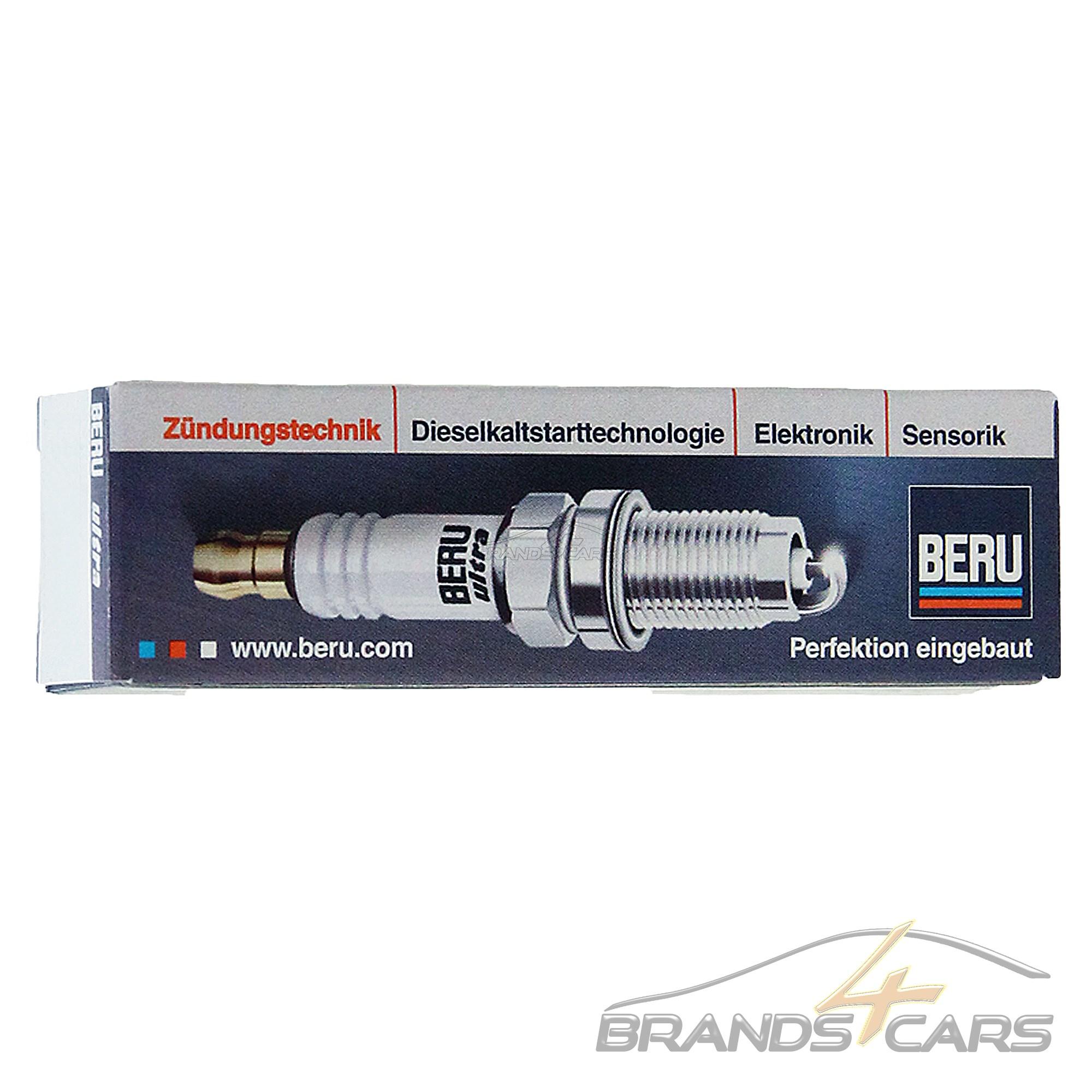 4x original Beru bujía bujías ultra Renault Logan 1 1.4 1.6 megane CC