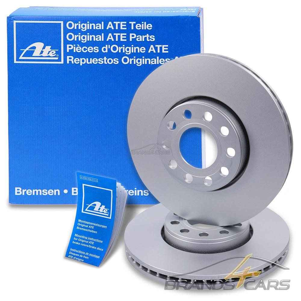 ATE Bremsbel/äge Bremskl/ötze Bremsenset Bremsenkit Komplettset Vorderachse Bremsenreiniger Original ATE Bremsscheiben vorne