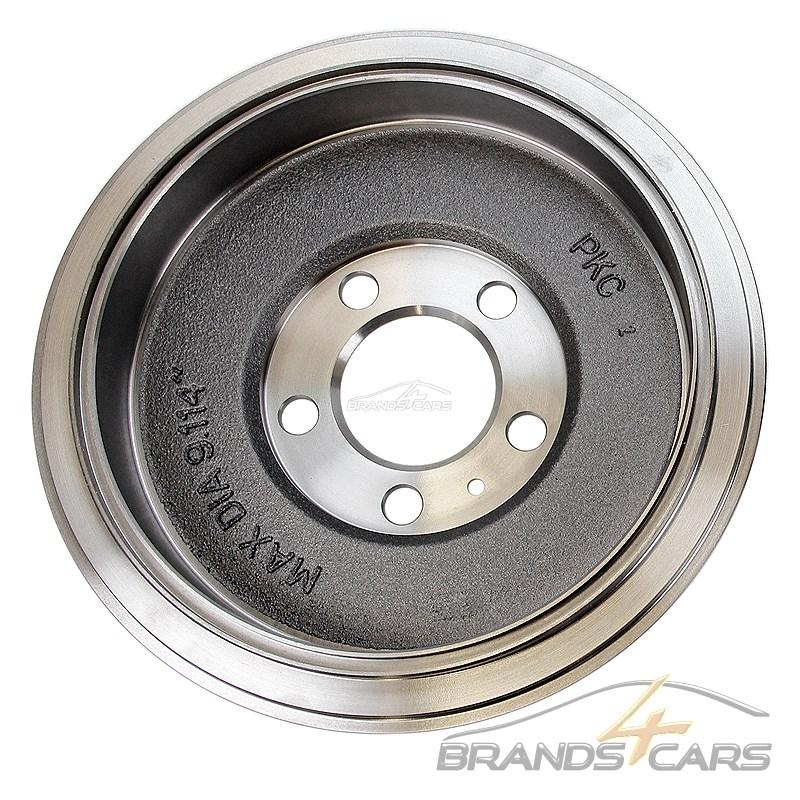 2x Bremstrommel MAPCO 35032 hinten für FIAT