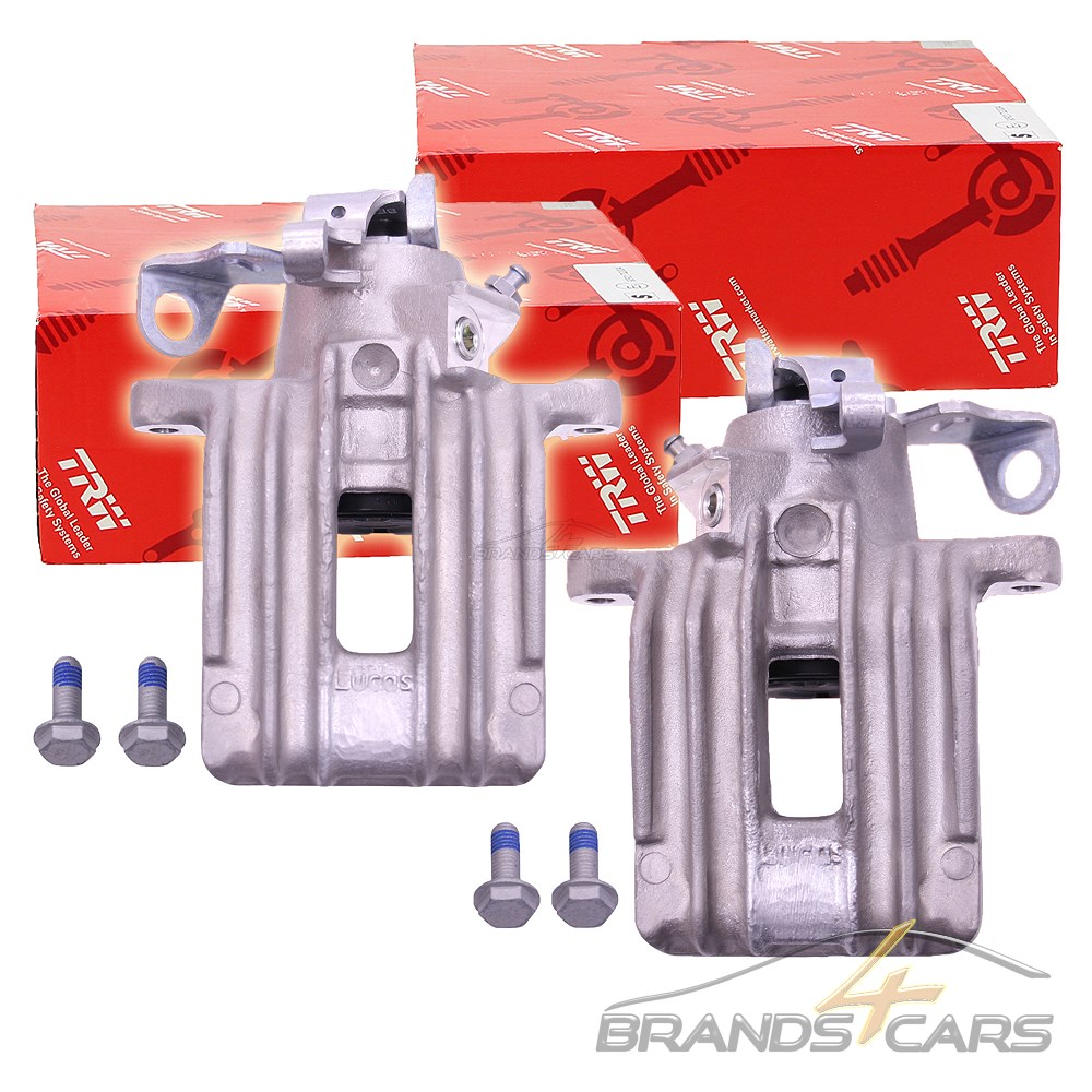 Autoparts-Online Set 60012995 Bremssattel PR-Nr 1KK Bremszange rechts f/ür hinten//die Hinterachse