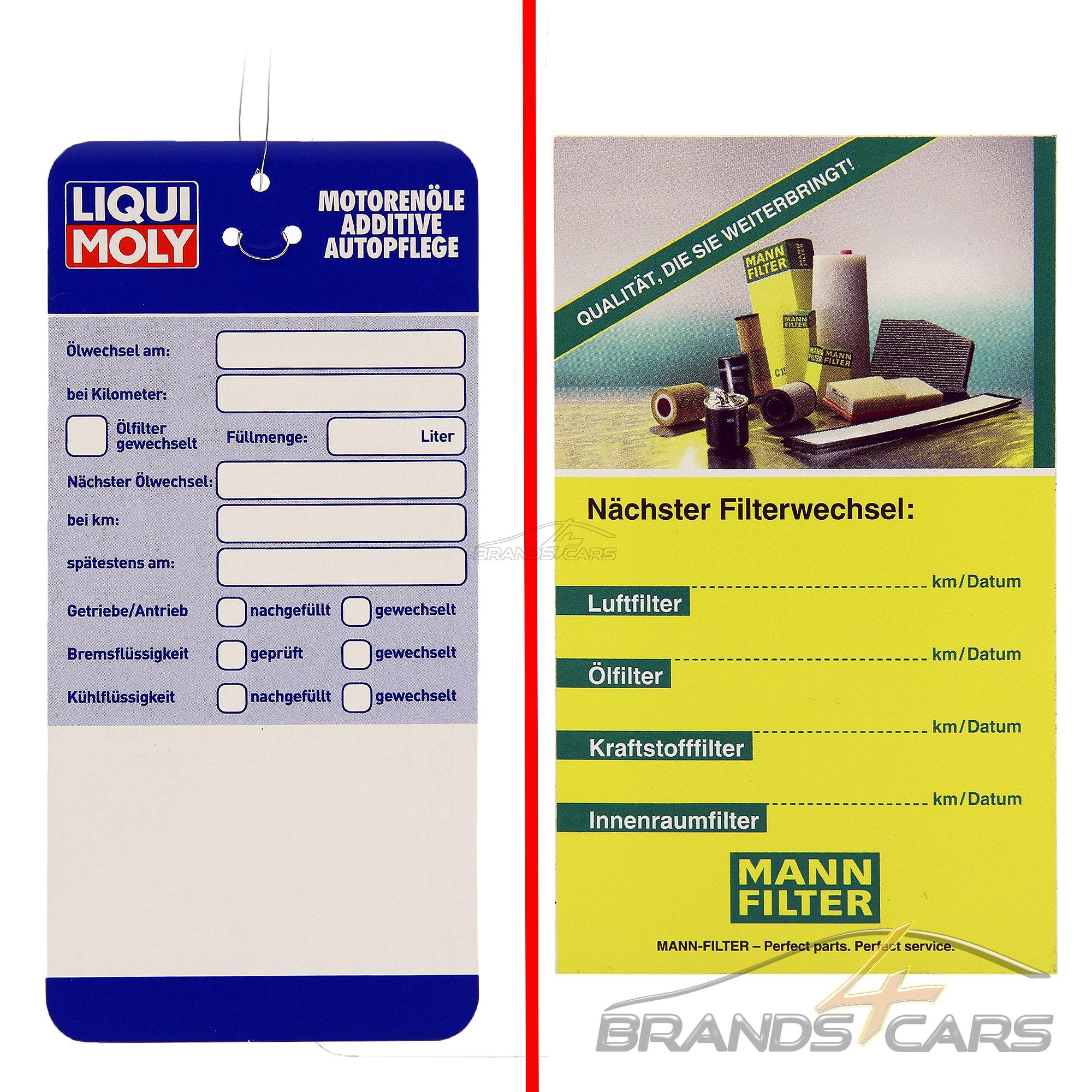 1x MANN-FILTER INSPEKTIONSPAKET FILTERSATZ C VW NEW BEETLE 9C 1.6 2.0 BJ 00-10