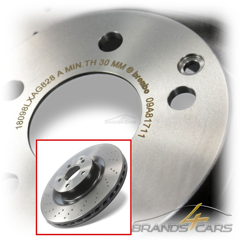 Bremsbeläge Vorne Brembo2 Bremsscheiben COATED DISC LINE Belüftet Ø 285 mm