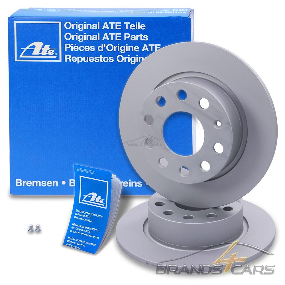 2 x Original ATE Bremsscheiben Vorderachse Mazda 6 6 Kombi