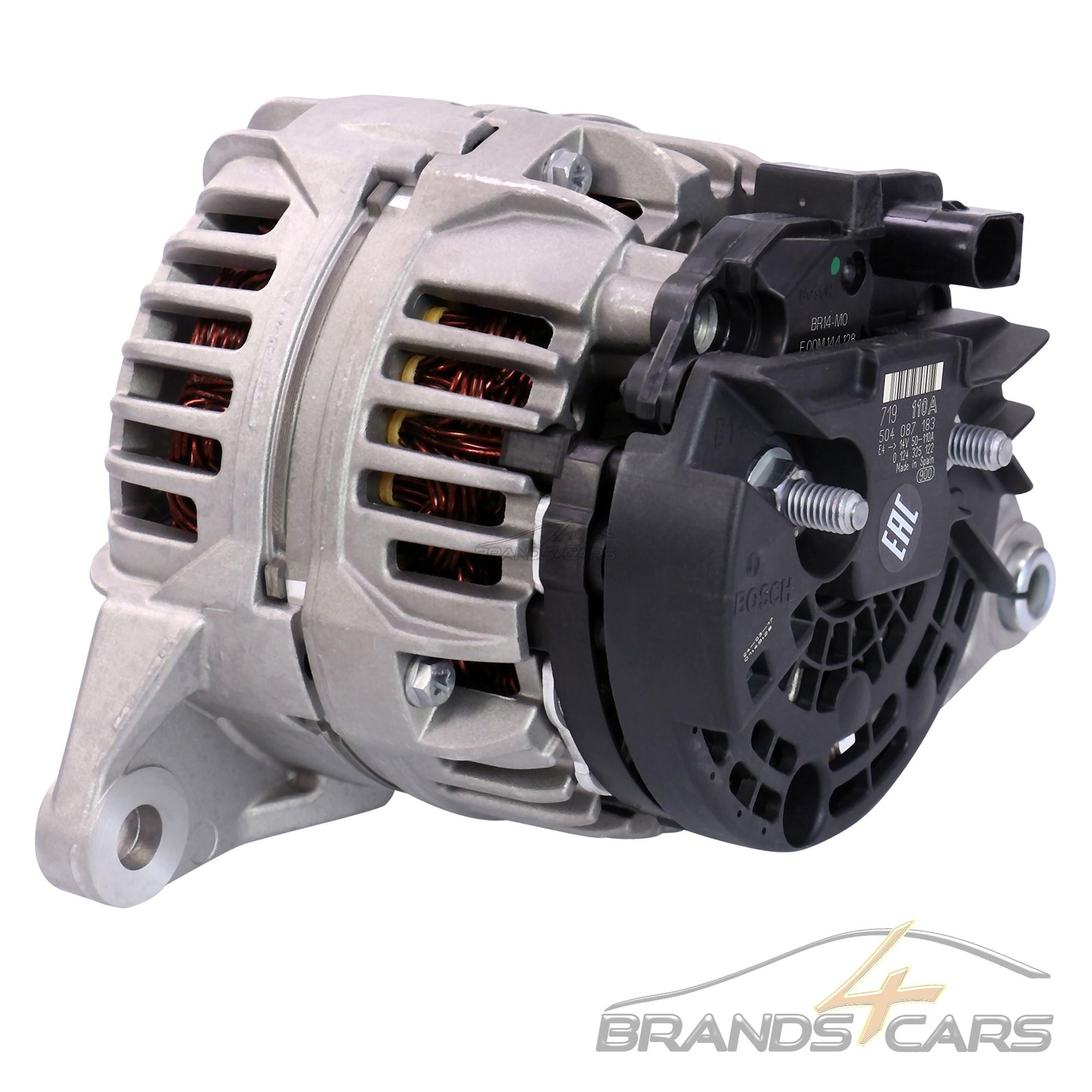 Bosch alternador generador 110-a Fiat Ducato 250 BJ 06-14