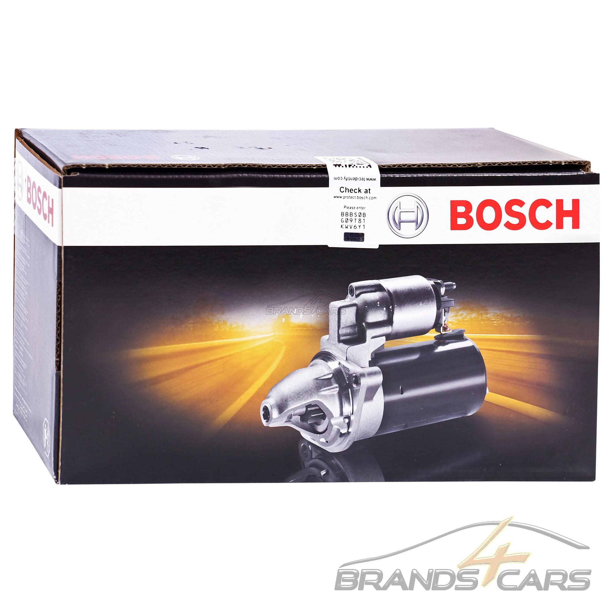 BOSCH STARTER ANLASSER 2KW AUDI A2 8Z 1.4 TDI A3 8L 1.9 TDI BJ 96-03