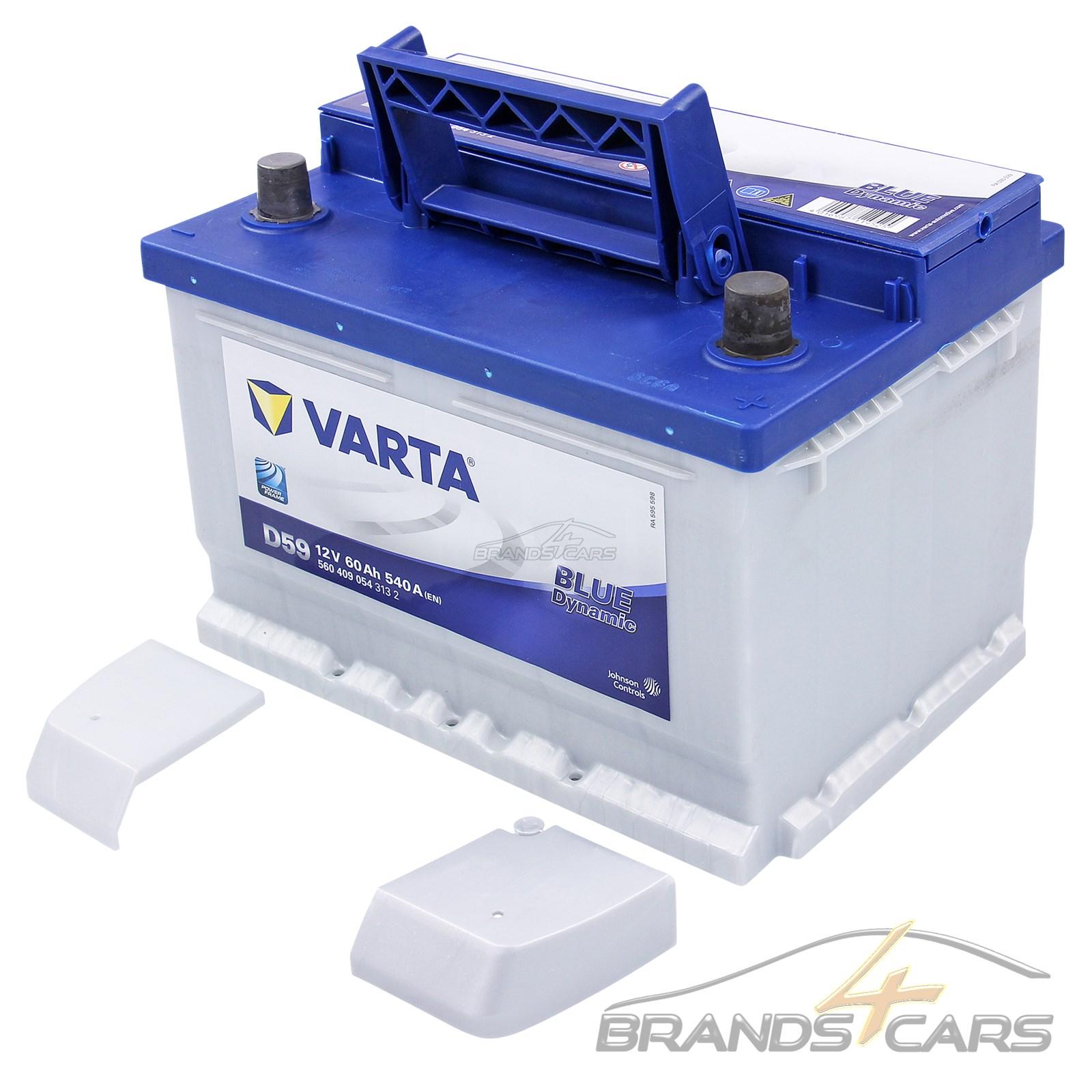 starterbatterie varta blue dynamic 60 ah 12 v 540 a 31855363 ebay. Black Bedroom Furniture Sets. Home Design Ideas