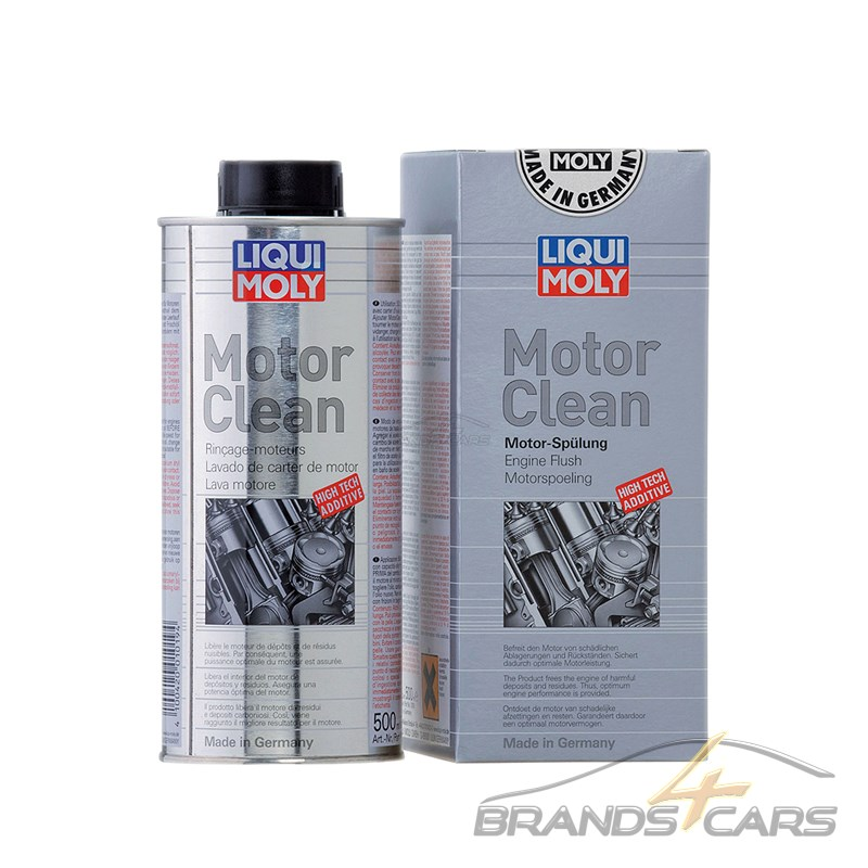 2x 500ml liqui moly motorclean motorreiniger motorsp lung. Black Bedroom Furniture Sets. Home Design Ideas