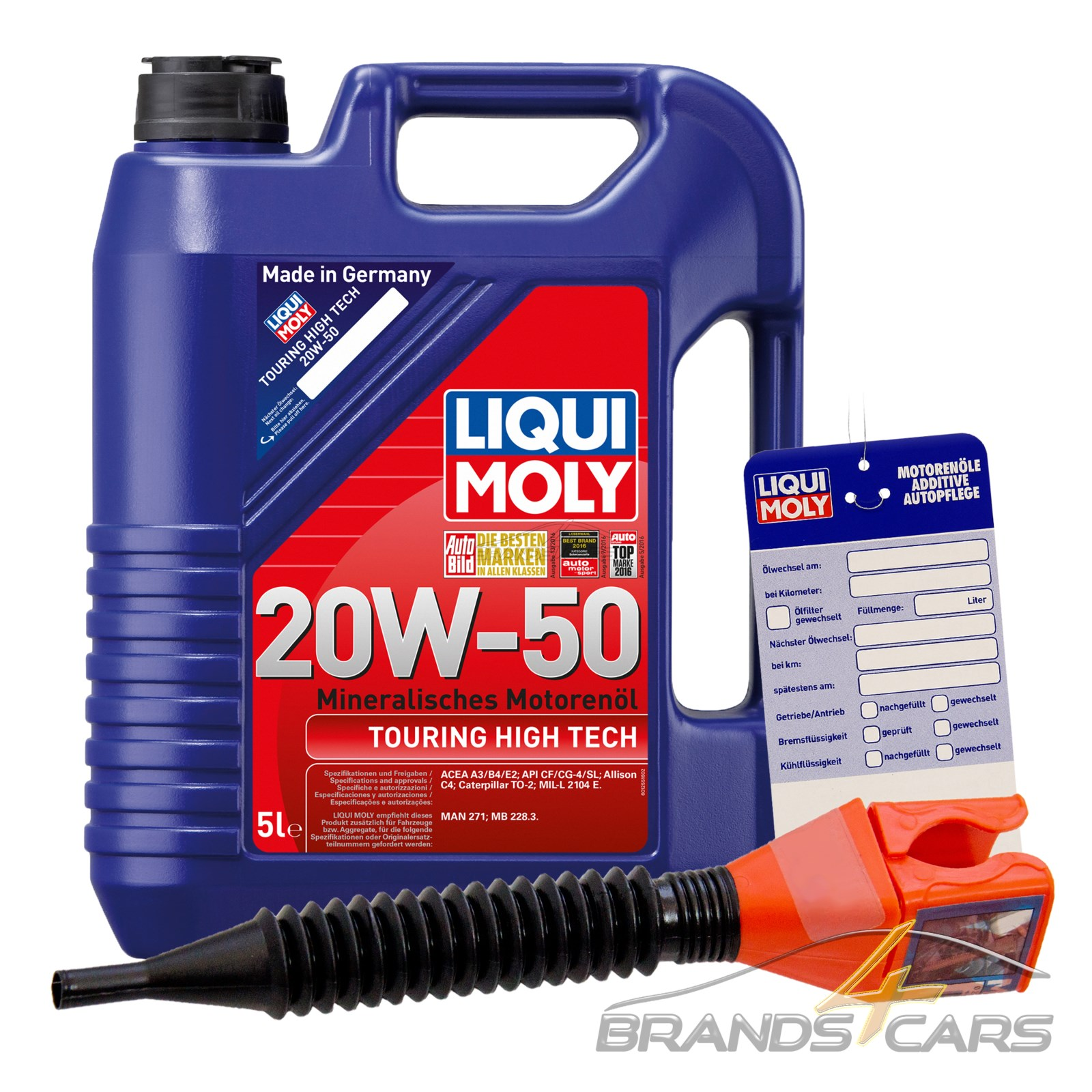 5 l liter liqui moly touring high tech 20w 50 motor l motoren l 32109673 ebay. Black Bedroom Furniture Sets. Home Design Ideas
