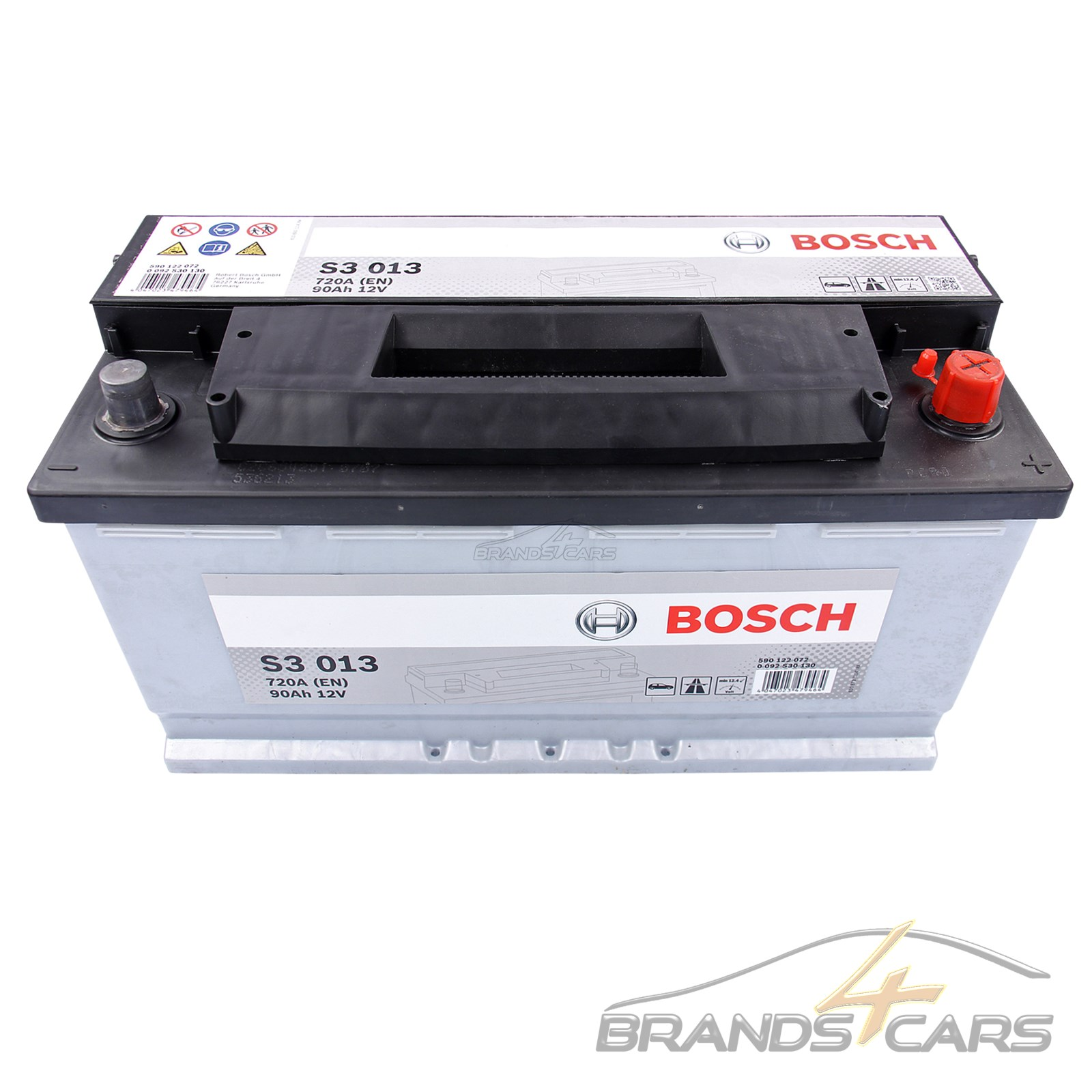bosch auto batterie 12v 90ah 720a ersetzt 82 ah 84 ah 85. Black Bedroom Furniture Sets. Home Design Ideas