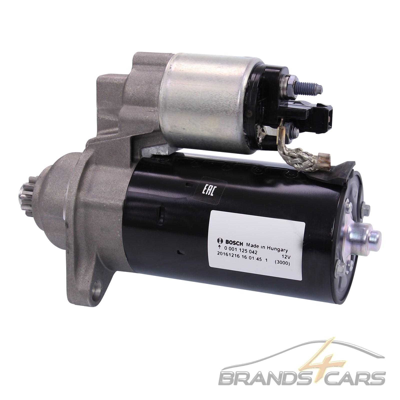 Bosch Starter Anlasser 2Kw Vw Bora Golf 4 1J 1.9 Tdi Caddy 2 1.9 Tdi Bj 96-03