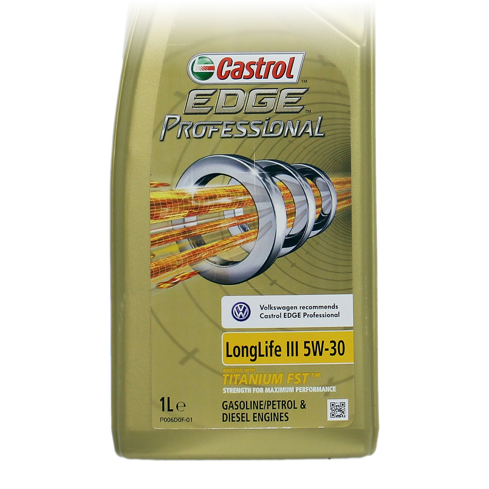 2x 1 l liter castrol edge professional longlife iii 5w 30 vw motor l 31854475 ebay. Black Bedroom Furniture Sets. Home Design Ideas