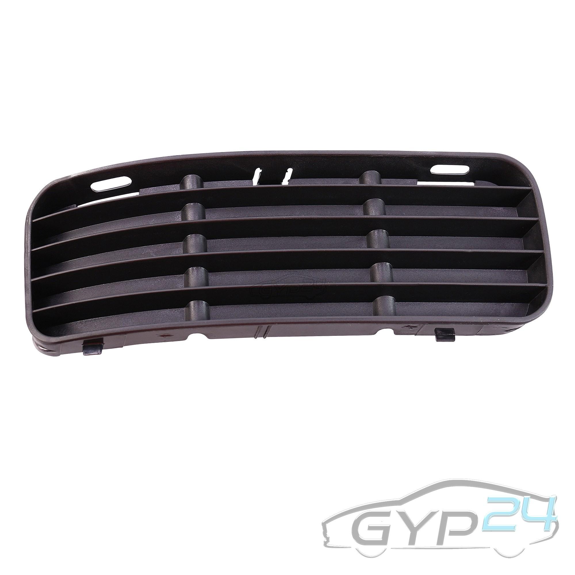 Gitter Blende Lüftungsgitter Stossstange mit Nebel rechts paßt für VW Passat 3C