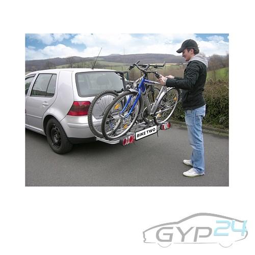 eufab bike two anh ngerkupplungstr ger f r 2 fahrr der. Black Bedroom Furniture Sets. Home Design Ideas