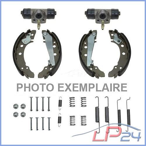 Ford Escort 7//VII phrase Mâchoires de frein freins tambour frein arriere Essieu Arrière