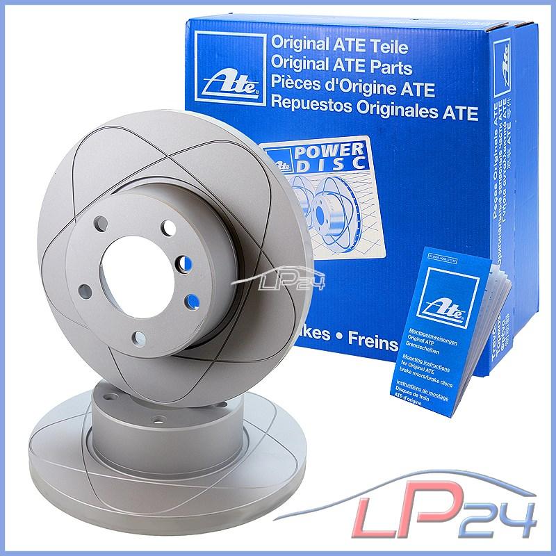 Forés et disques de frein arrière rainure SKODA FABIA 1.9 TDI 2000-08 6Y2