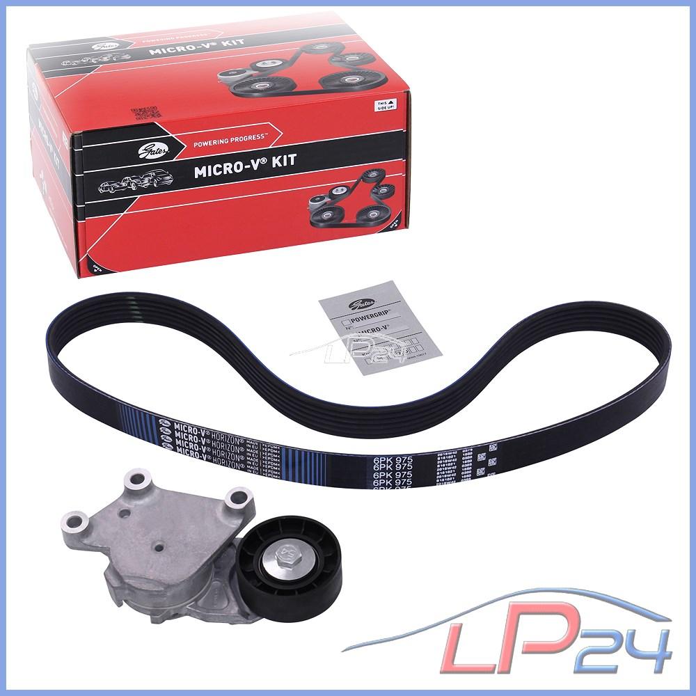 Courroie De Distribution /& Pompe à eau Kit pour MAZDA 2 1.6D 08 To 10 Set Gates qualité neuf