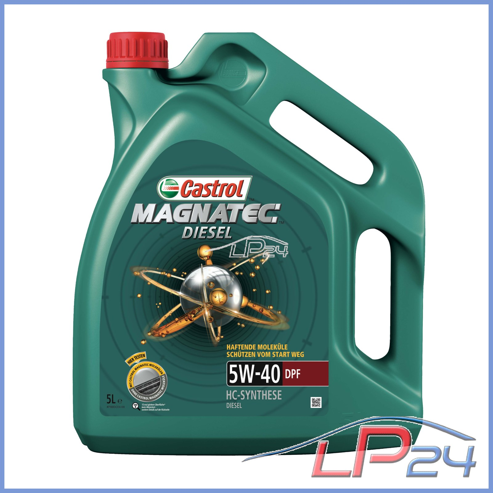 7 l litres 5w 40 dpf castrol magnatec diesel huile de moteur vw 505 00 ebay. Black Bedroom Furniture Sets. Home Design Ideas