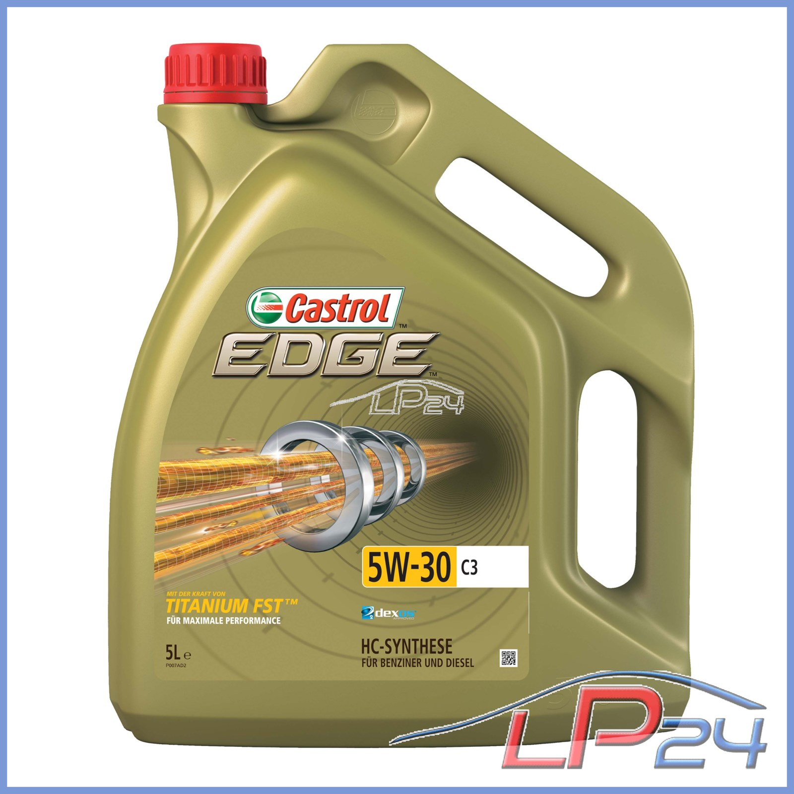 5 litres castrol edge titanium fst 5w 30 c3 huile de. Black Bedroom Furniture Sets. Home Design Ideas